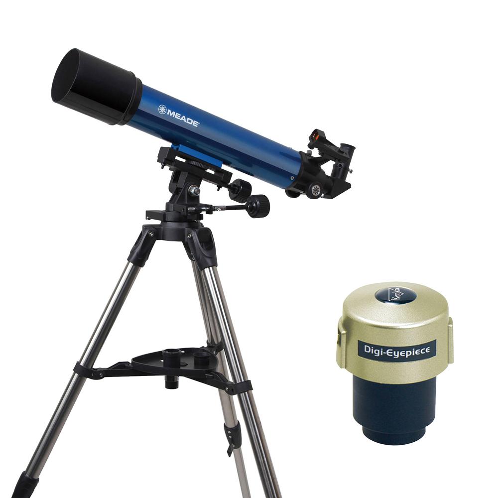 【★数量限定アウトレット】【即配】 Meade (ミード) 天体望遠鏡 AZM-90 デジアイピースセット【送料無料】【あす楽対応】【天体観測】