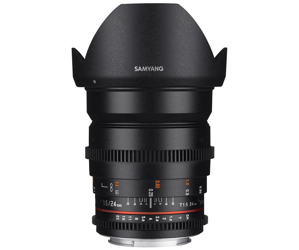 【★数量限定アウトレット】【処分特価】【取寄】 (KT*) SAMYANG サムヤン24mm T1.5 VDSLR ED AS IF UMC II Fujifilm X用【送料無料】【あす楽対応】