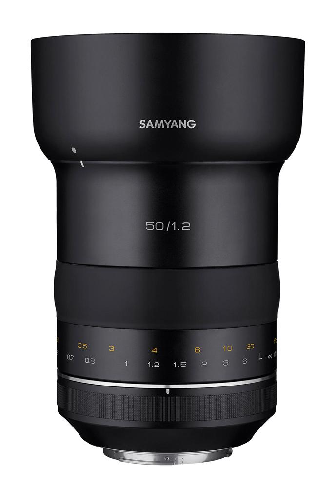 【4/26 1:59までポイント10倍】【即配】 SAMYANG サムヤン 交換レンズ XP50mm F1.2 キヤノンEFマウント【送料無料】5000万画素、8K動画に対応【あす楽対応】