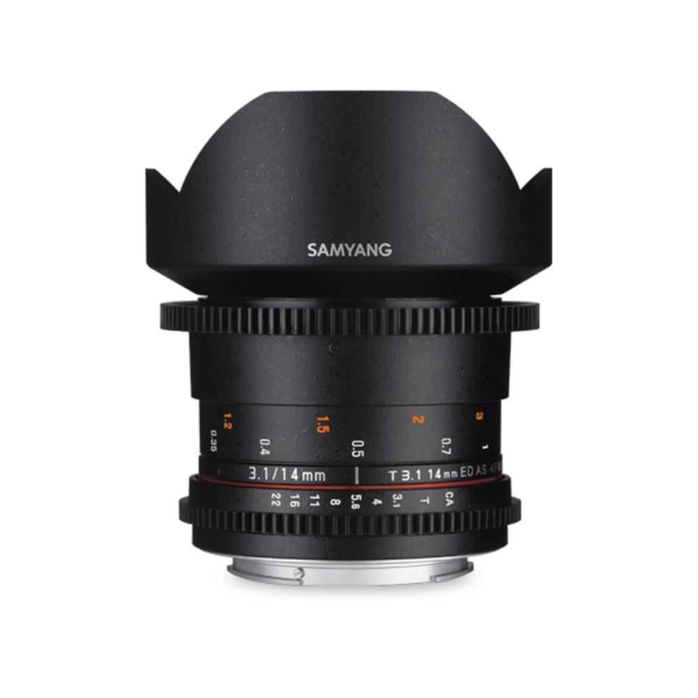 【取寄】 SAMYANG サムヤン シネマレンズ 14mm T3.1 VDSLR ED AS IF UMC II ソニーE用 【送料無料】