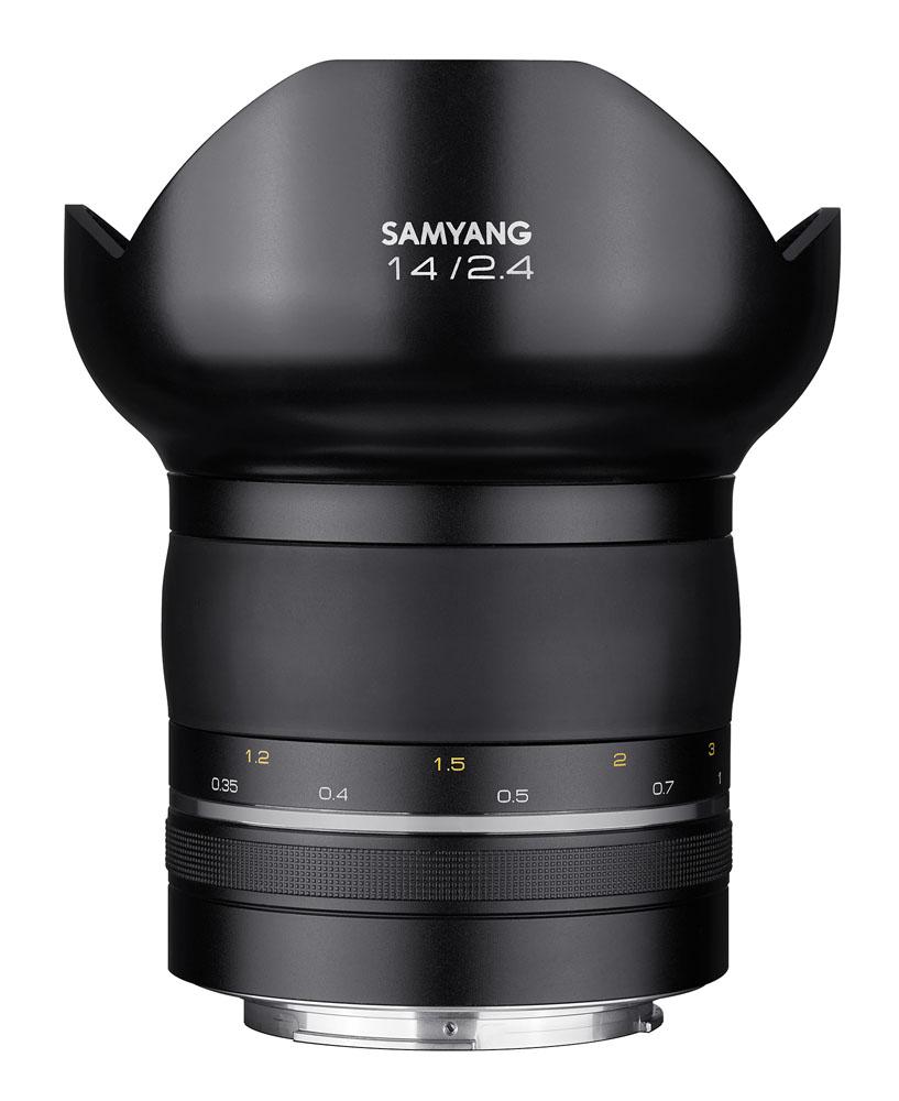 【即配】 (KT) SAMYANG サムヤン 交換レンズ XP14mm F2.4  キヤノンEF マウント【送料無料】超高画素の撮影に! プレミアム超広角レンズ【あす楽対応】