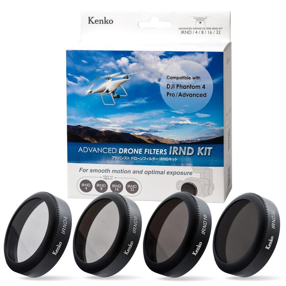 送料無料 ドローンで滑らかな映像を撮るために必須のIRNDフィルターキット 即配 アドバンスト ドローンフィルターIRNDキット FOR DJI Phantom ケンコートキナー Pro 豊富な品 ドローン用IRNDフィルター KENKO Advanced 4 海外 TOKINA