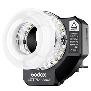 【10/19 19:59までポイント10倍】(受注生産) Godox (ゴドックス) WITSTRO AR400 リングフラッシュ 影のない照明を供給!※受注生産※【送料無料】