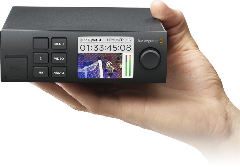 【10/19 19:59までポイント10倍】(受注生産) (KP) Blackmagic ブラックマジック Teranex Mini - Audio to SDI 12Gr【返品不可】※受注生産※【送料無料】