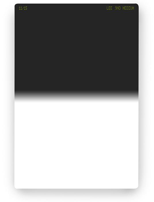 【即配】 LEE リー 100×150mm角 ハーフNDフィルター ミディアム 0.9ND 【3絞り分減光】【ネコポス便送料無料】