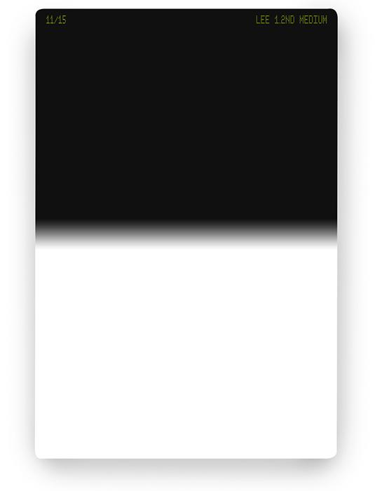 【4/26 1:59までポイント10倍】【即配】 LEE リー 100×150mm角 ハーフNDフィルター ミディアム 1.2ND 【4絞り分減光】【ネコポス便送料無料】