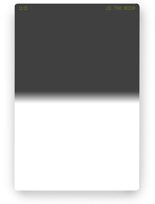 【即配】 LEE リー 100×150mm角 ハーフNDフィルター ミディアム 0.75ND 【2.5絞り分減光】【ネコポス便送料無料】