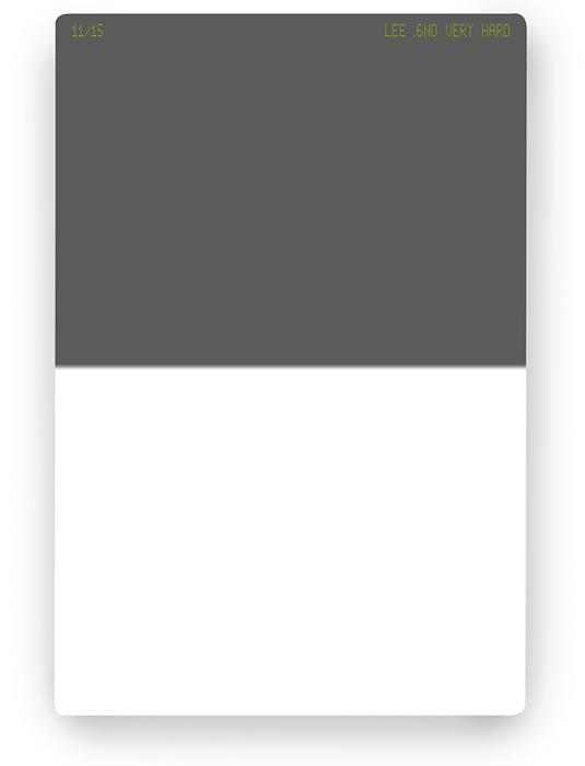 【即配】 LEE リー 100×150mm角 ハーフNDフィルター ベリーハード 0.6ND 【2絞り分減光】【ネコポス便送料無料】