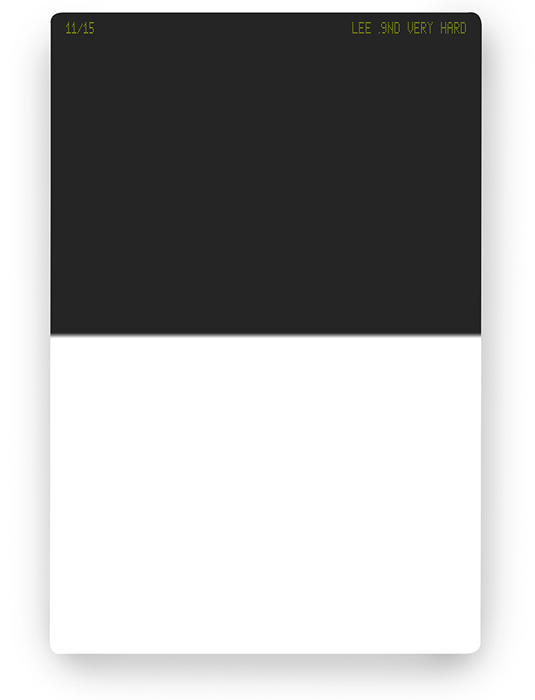 【11/30 23:59までポイント10倍】【即配】 LEE リー 100×150mm角 ハーフNDフィルター ベリーハード 0.9ND 【3絞り分減光】【ネコポス便送料無料】