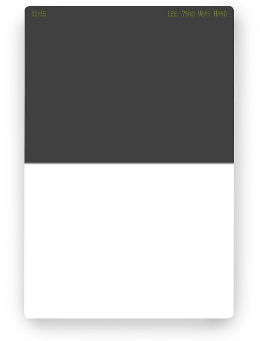 【即配】 LEE リー 100×150mm角 ハーフNDフィルター ベリーハード 0.75ND 【2.5絞り分減光】【ネコポス便送料無料】