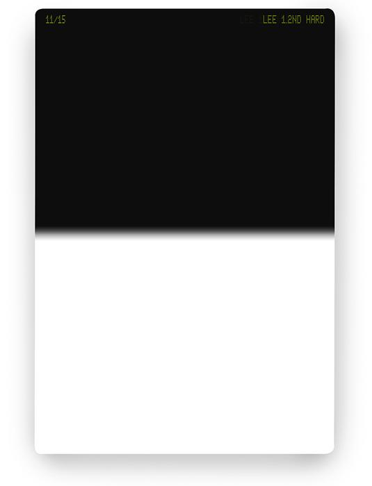 【即配】 LEE リー 100×150mm角 ハーフNDフィルター ハード 1.2ND 【4絞り分減光】【ネコポス便送料無料】