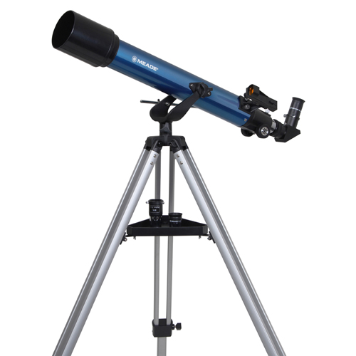 【4/26 1:59までポイント10倍】Meade (ミード) 天体望遠鏡 AZM-70 口径70mmエントリーモデル【送料無料】【天体観測】