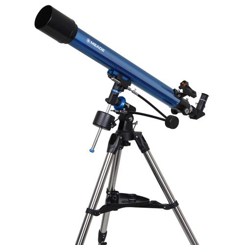【4/26 1:59までポイント10倍】【即配】 Meade (ミード) 天体望遠鏡 EQM-70 追尾しやすい赤道儀式。エントリーモデル【送料無料】【天体観測】