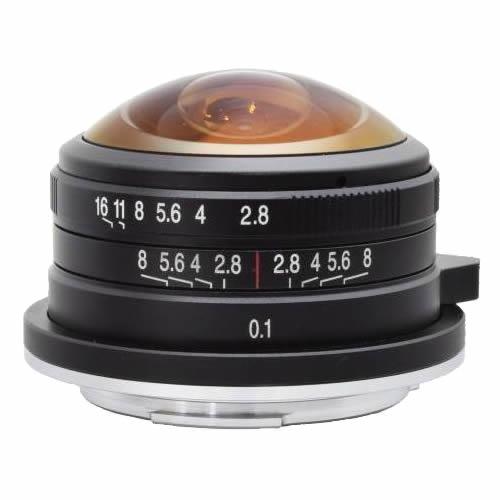【取寄】LAOWA ラオワ 交換レンズ LAOWA 4mm F2.8 Fisheye MFT【送料無料】