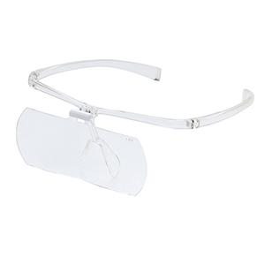 【7/20 9:59までポイント10倍】【即配】両手が使えるメガネ拡大鏡 II 1.6倍 KTL-9207CL (クリア) ケンコートキナー KENKO TOKINA 【送料無料】【送料無料】