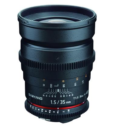 【即配】 (KT) SAMYANG (サムヤン) シネマレンズ VDSLR 35mm T1.5 AS UMC キヤノン EOS(EF)用 【送料無料】【】