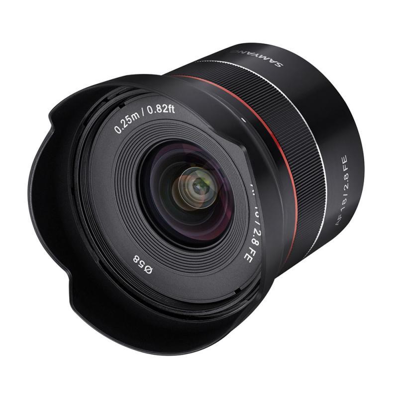 【新古品(店舗保証3ケ月)】【即配】 (NO) SAMYANG サムヤン 交換レンズ AF 18mm F2.8 FEマウント【送料無料】【あす楽対応】