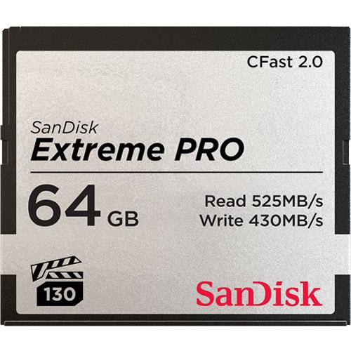 【取寄】 サンディスク エクストリーム プロ CFast 2.0カード 64GB SDCFSP-064G-J46D SanDisk サンディスク 【ネコポス便送料無料】