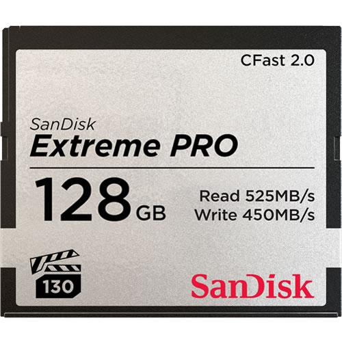 【4/26 1:59までポイント10倍】【取寄】 サンディスク エクストリーム プロ CFast 2.0カード 128GB SDCFSP-128G-J46D SanDisk サンディスク 【ネコポス便送料無料】