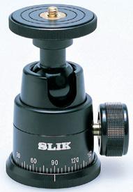 【4/26 1:59までポイント10倍】【日本製】【即配】 SLIK スリック 自由雲台SBH320BK N(ブラック)【送料無料】【あす楽対応】