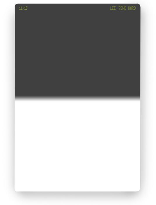 【即配】 LEE リー 100×150mm角 ハーフNDフィルター ハード 0.75ND 【2.5絞り分減光】【ネコポス便送料無料】