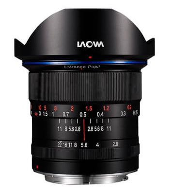 美品 送料無料 超広角レンズでありながらサイドの歪みを補正するディストーションフリー Nikon F 取寄 購買 SJ LAOWA ニコンFマウント 交換レンズ Zero-D 12mm F2.8 ラオア