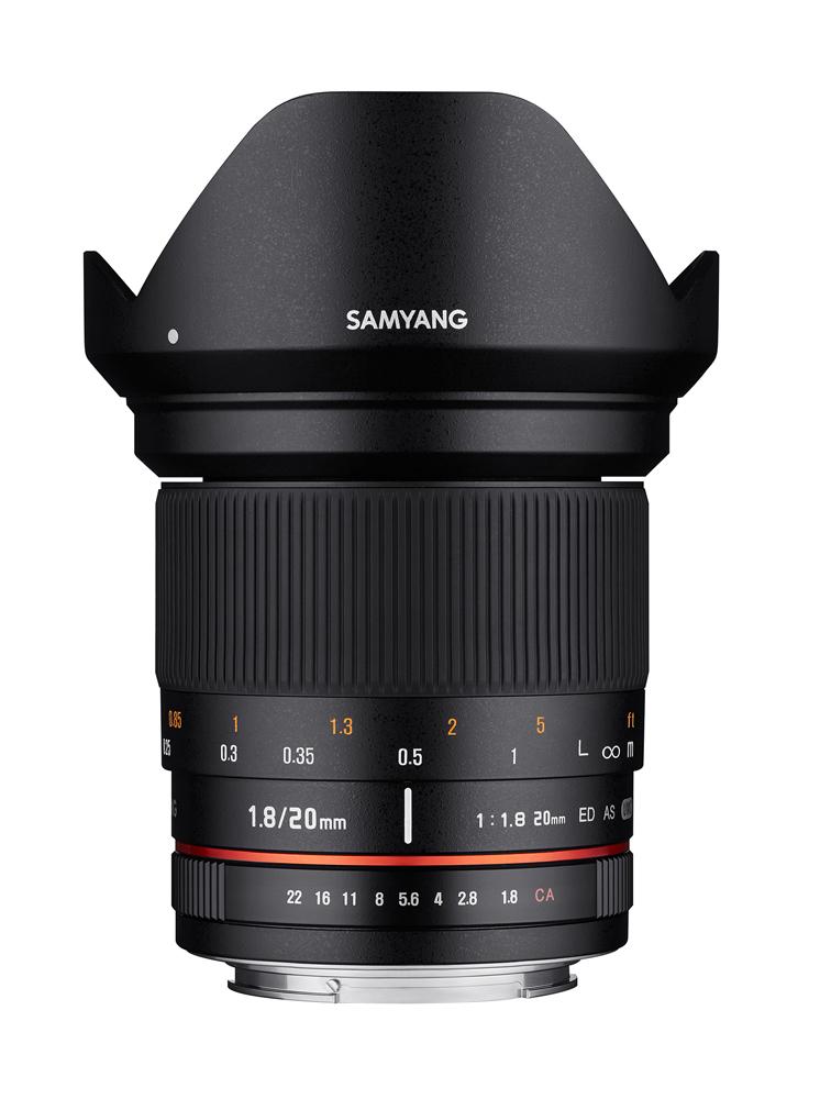 【即配】 (KT) SAMYANG サムヤン 交換レンズ 20mm F1.8 ED AS UMC ソニーE マウント【送料無料】【あす楽対応】