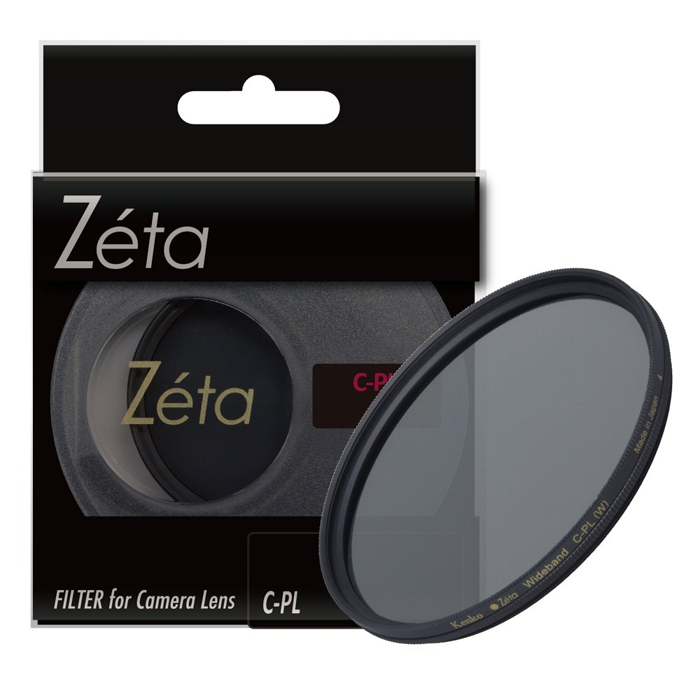 【即配】 ケンコートキナー KENKO TOKINA カメラ用 フィルター 72mm Zeta ゼータ ワイドバンドC-PL(サーキュラーPL)【ネコポス便送料無料】【アウトレット】
