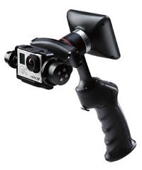 (受注生産)WenPod 2-axis GP1+2軸GoPro用スタビライザー※受注生産※【送料無料】