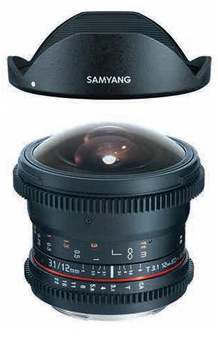 【即配】 (KT) SAMYANG サムヤン 12mm T3.1 VDSLR ED AS NCS FISH-EYE ペンタックスK用 【あす楽対応】