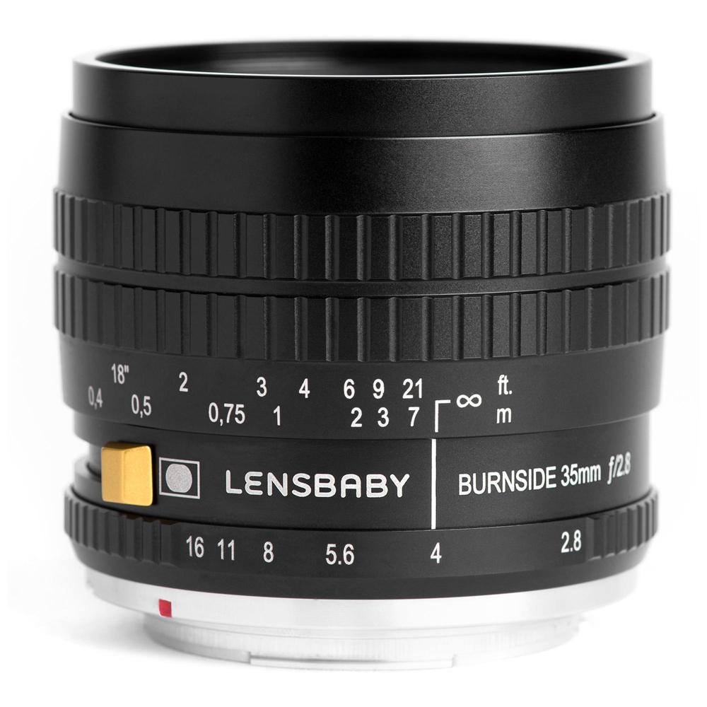 【即配】レンズベビー Burnside 35 マイクロフォーサーズマウント LENSBABY 【送料無料】渦巻きボケと周辺減光効果が得られるレンズ【あす楽対応】【アウトレット】