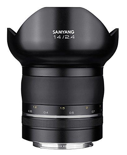 【取寄】 SAMYANG サムヤン 交換レンズ XP14mm F2.4  ニコンFマウント【送料無料】超高画素の撮影に! プレミアム超広角レンズ