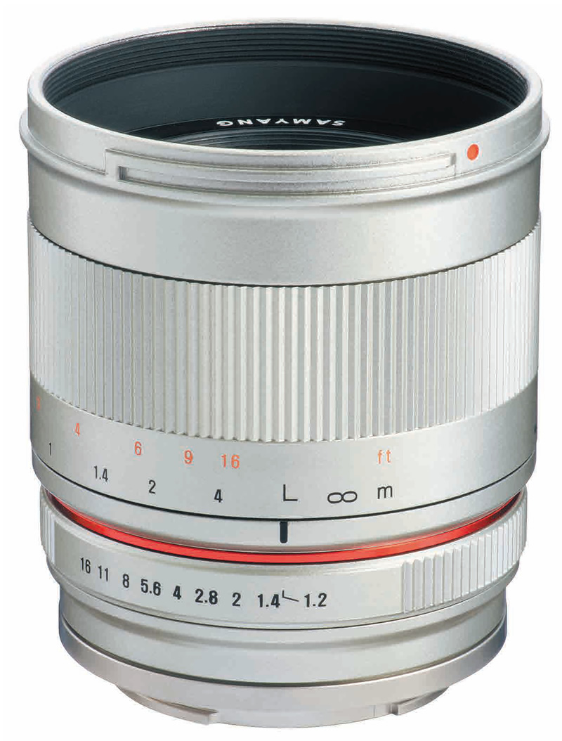 【即配】 (KT) SAMYANG サムヤン 交換レンズ 50mm F1.2 AS UMC CS Canon M SV シルバー  【あす楽対応】