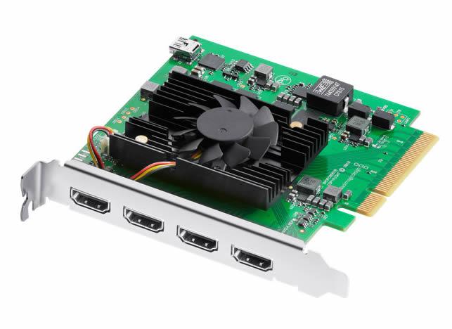 (受注生産) (KP) Blackmagic ブラックマジック DeckLink Quad HDMI Recorder 【返品不可】※受注生産※【送料無料】