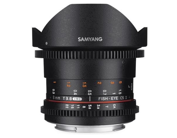 【★数量限定アウトレット】【処分特価】【取寄】 (KT*) SAMYANG (サムヤン) シネマレンズ 8mm T3.8 VDSLR UMC Fish-eye CS II Nikon F(AE)用 【送料無料】【あす楽対応】