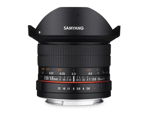 【新古品(店舗保証3ケ月)】【即配】 (NO) SAMYANG サムヤン 12mm F2.8 ED AS NCS FISH-EYE ソニーE用 【送料無料】【あす楽対応】