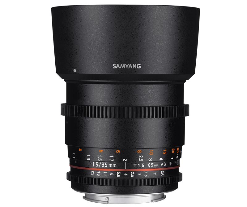 【取寄】SAMYANG サムヤン シネマレンズ 85mm T1.5 VDSLR AS IF UMC II ペンタックスK用 【送料無料】
