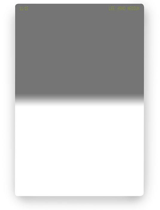 【即配】 LEE リー 100×150mm角 ハーフNDフィルター ミディアム 0.45ND 【1.5絞り分減光】 【ネコポス便送料無料】