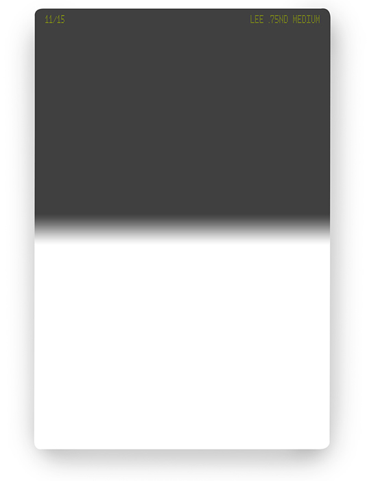 【5/18 1:59までポイント10倍】【即配】 LEE リー 100×150mm角 ハーフNDフィルター ミディアム 0.75ND 【2.5絞り分減光】【ネコポス便送料無料】