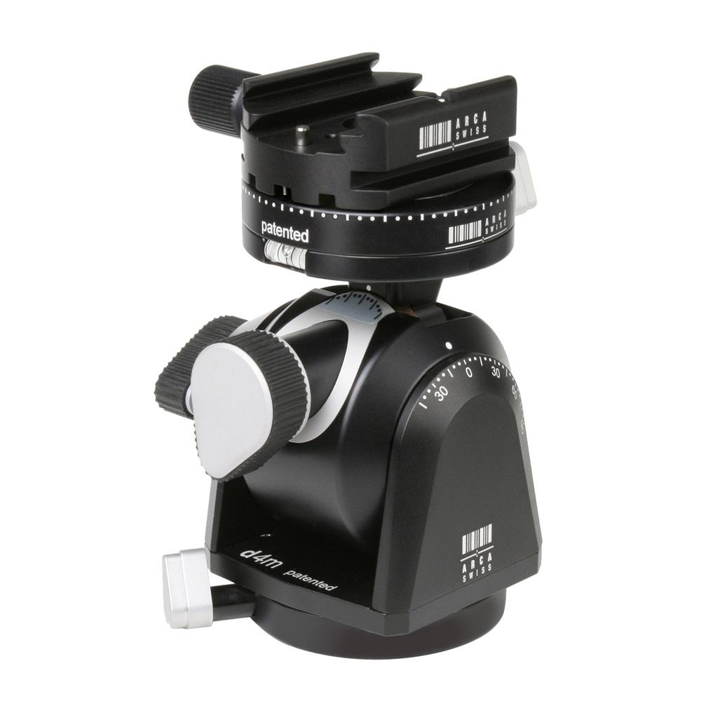【送料無料】カメラの動きを最小限に抑え、向きを調整できる自由雲台 (受注生産) ARCA-SWISS アルカスイス D4マニュアル クィック ※受注生産※【送料無料】