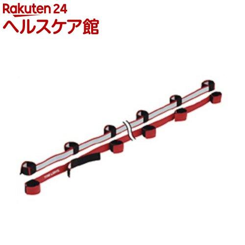 トーエイライト むかでロープ DX10(赤) 10人用(2本1組) B-3793R(1組入)【トーエイライト】