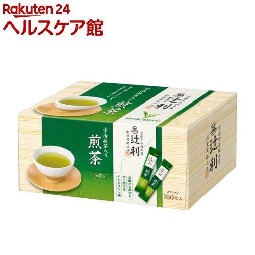 辻利 送料無料/新品 18%OFF 宇治抹茶入り煎茶 スティック 0.8g 100本入