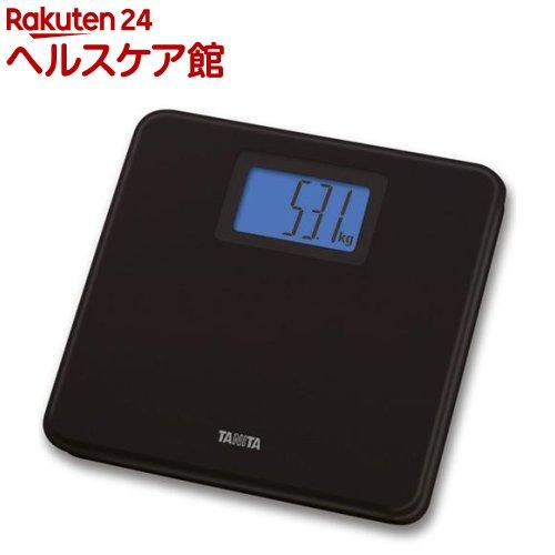 タニタ TANITA デジタルヘルスメーター HD-662-BK ブラック 1台 絶品 日本限定