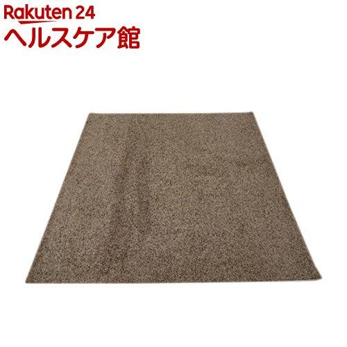 イケヒコ シャンゼリゼ ラグマット 190*240cm ベージュ 抗菌 防ダニ 防臭 防炎(1枚入)