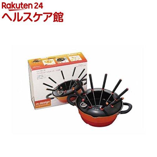 m.design 天ぷら串揚げ鍋23cm(1コ入)