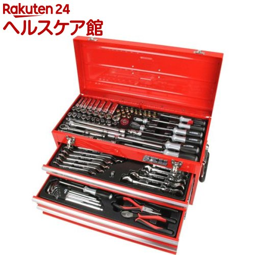 SK11 整備工具セット レッド SST-16133RE(1セット)【SK11】