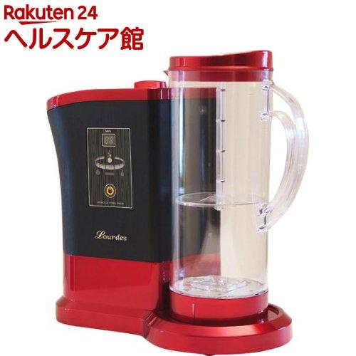 高濃度水素水生成器 ルルド 1.8L レッド(1台)【ルルド(水素水)】【送料無料】