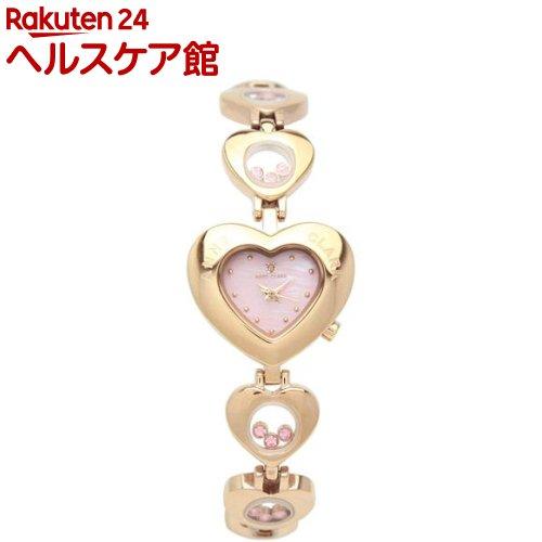 アンクラーク 腕時計 1P天然ダイヤハート型フェイスムービングストーン AU1031-17PG(1本入)【】