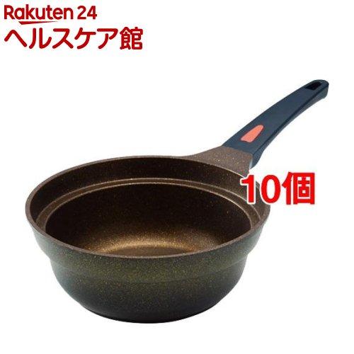 IHゴールドマーブル片手鍋 20cm(10個セット)