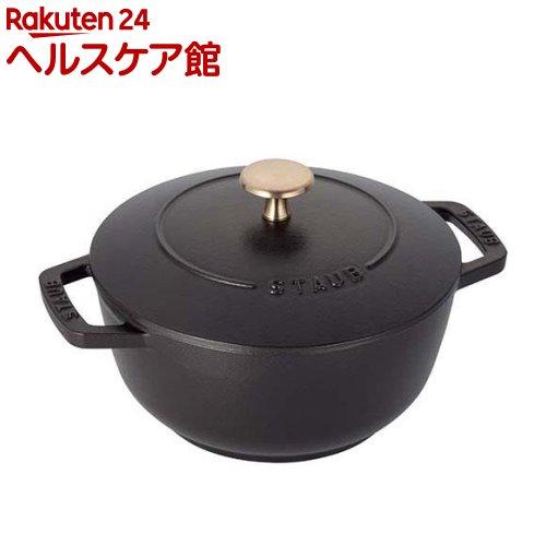 ストウブ Wa-NABE L ブラック(2.35L)【ストウブ】【送料無料】